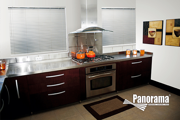 Persianas de aluminio cortinas persianas toldos bogota - Persianas para cocina ...