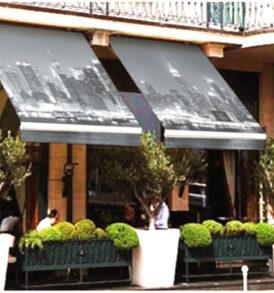 toldos plegables para estriores terrazas, patios