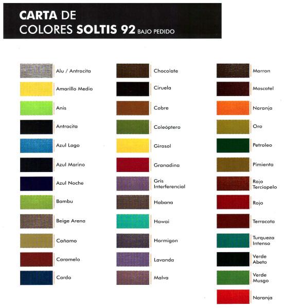 Toldo vertical de exteriores y plegables bogota toldos enrollables - Toldos colores ...