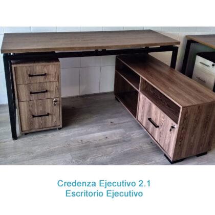 escritorio credenza ejecutivo, mueble de almacenamiento bogotá cundinamarca