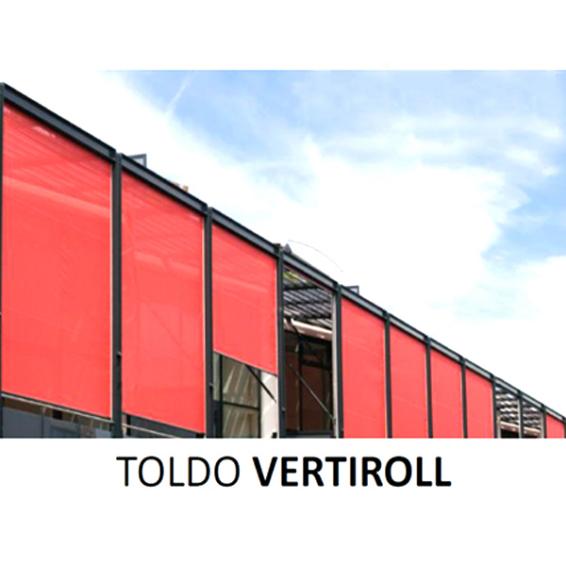 Toldo vertical de exteriores y plegables bogota toldos - Toldos verticales enrollables ...