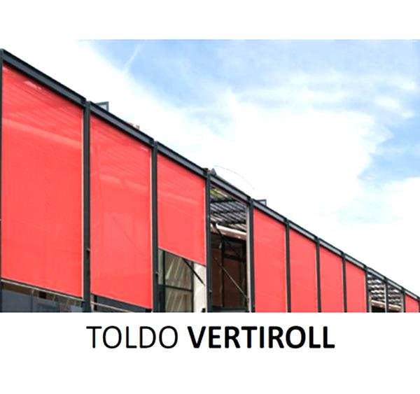 Toldo vertical de exteriores y plegables bogota toldos for Muebles exteriores bogota
