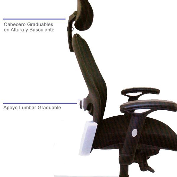 silla de oficina generere importada malla bogota colombia