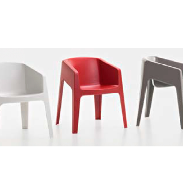 Silla plastica de exteriores silla hoteles auditorios - Sillas para exterior ...