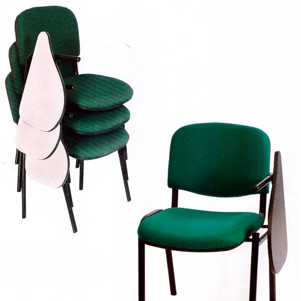 silla universitaria tapizada copn brazos escualizable bogota colombia